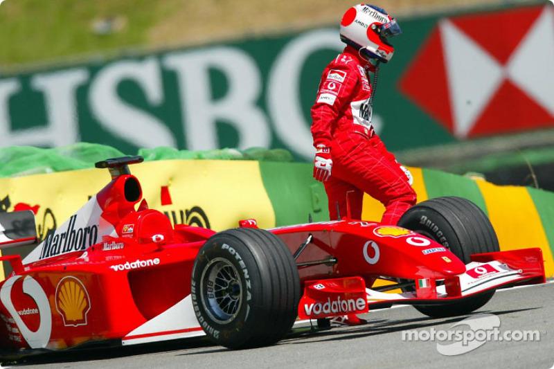 A bad day for Rubens Barrichello