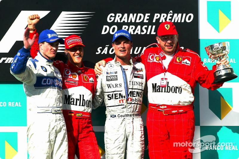 2002. Бразилія. Міхаель Шумахер, Ferrari F2002