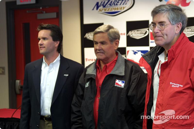Al Unser Sr, nommé Grand Marshal pour le Firestone Indy 225 sur le Nazareth Speedway