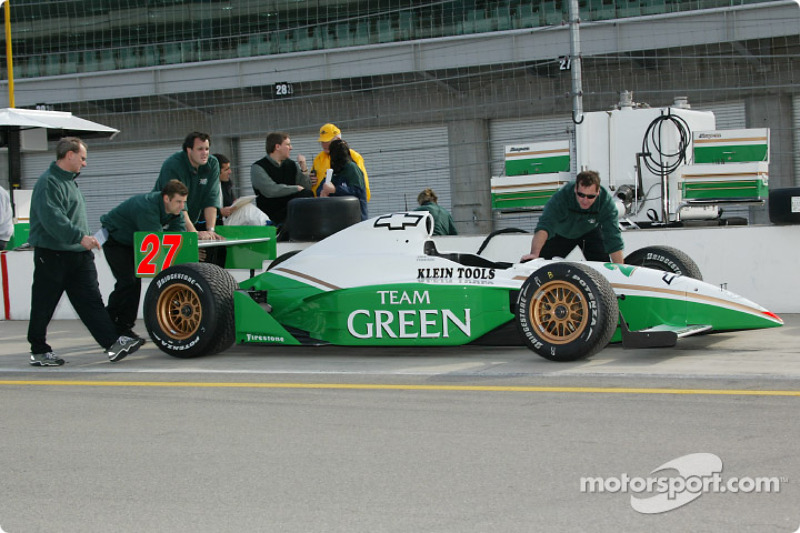 Team Green crew