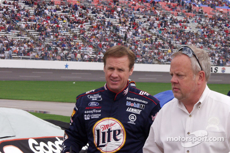 rusty wallace at texas 500. Black Bedroom Furniture Sets. Home Design Ideas