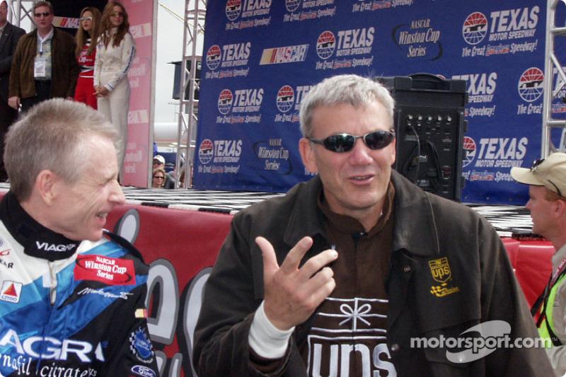 Mark Martin and Dale Jarrett