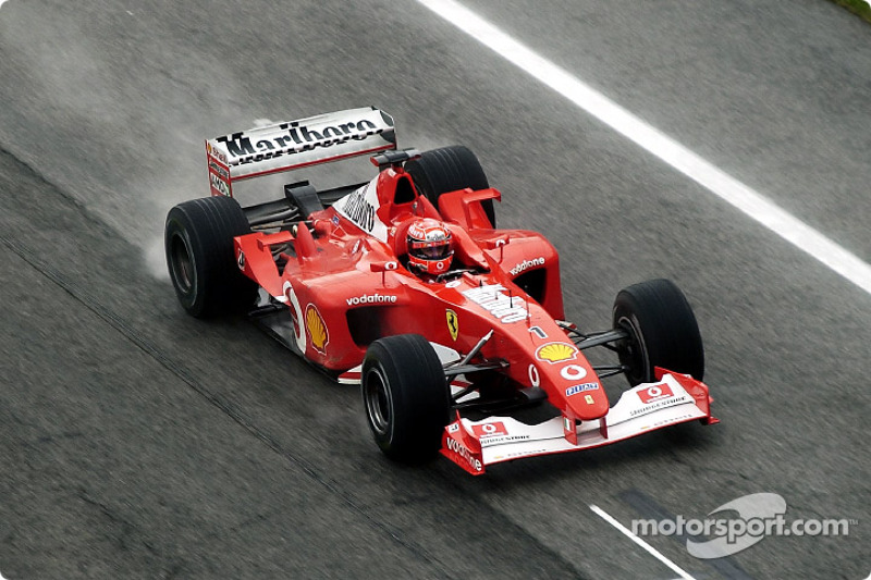 6º: Ferrari F2002 (2002-2003)
