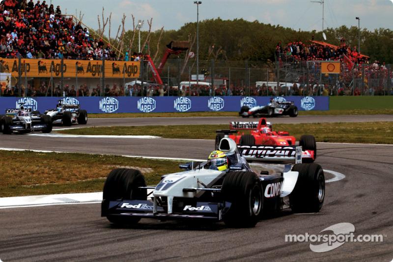 Segunda vuelta: Ralf Schumacher delante de Rubens Barrichello