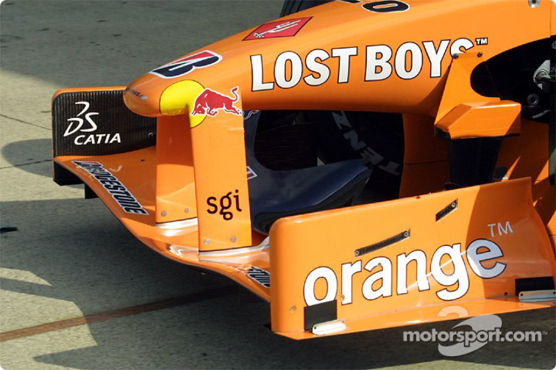 Front end of the Arrows