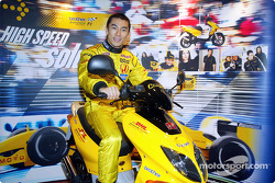 Team Jordan promotional event: Takuma Sato