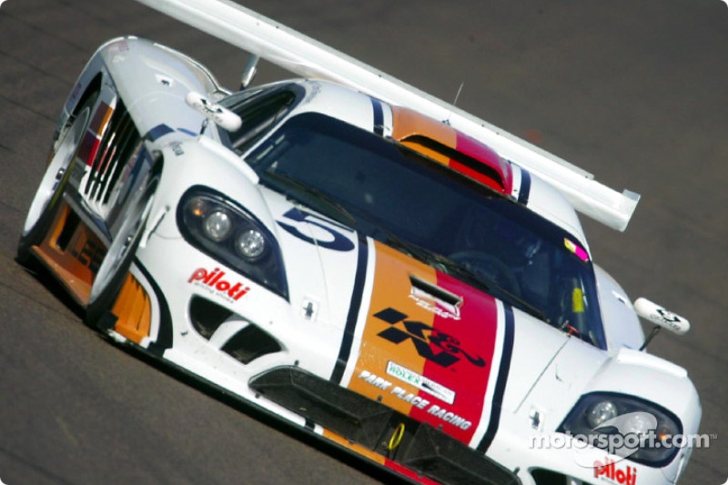 Chris Bingham was fastest in the GTS class in Park Place Racing's #5 K&N Filters Saleen S7R during qualifying