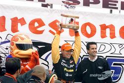Race winner Scott Sharp