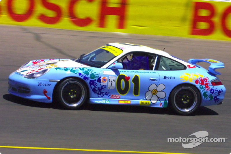 The G&W Motorsports #01 Porsche GT3 Cup won the pole during qualifying for the UnitedAuto Sport 250