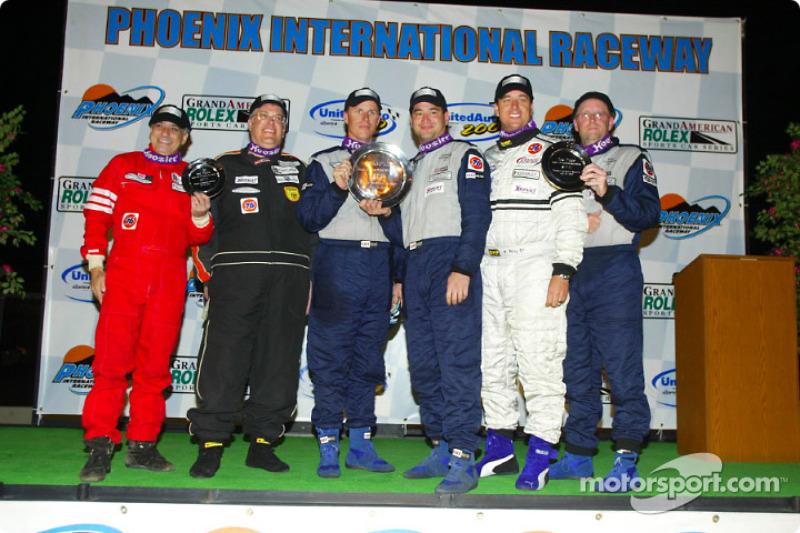 The Sport Touring II podium