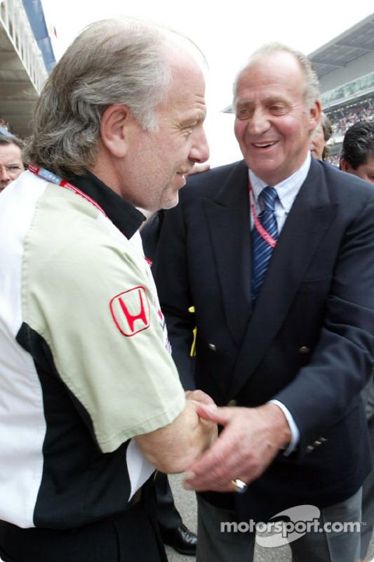 David Richards y el Rey Juan Carlos