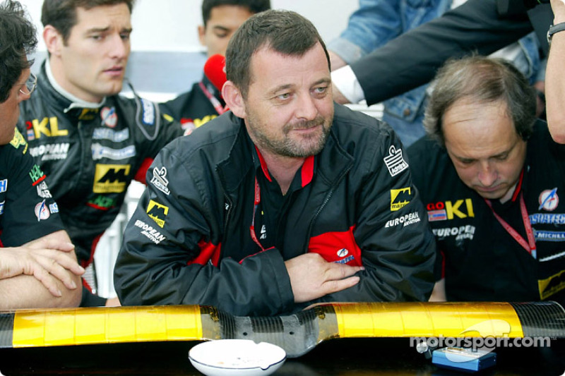 Paul Stoddart announcing the withdrawal of Team Minardi from the Spanish GP