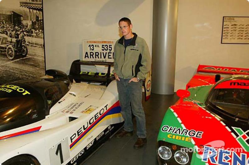 Visita al Museo de Le Mans: Gunnar Jeannette