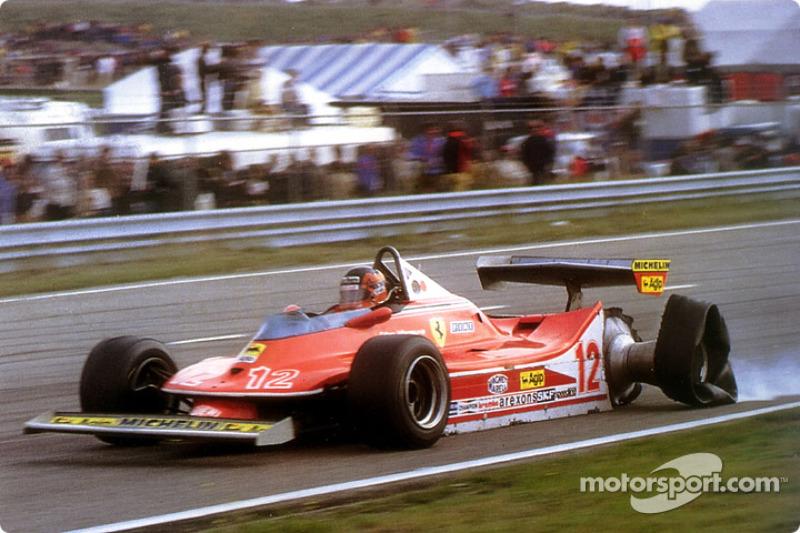 1979: Гран При Голландии, Ferrari 312T4