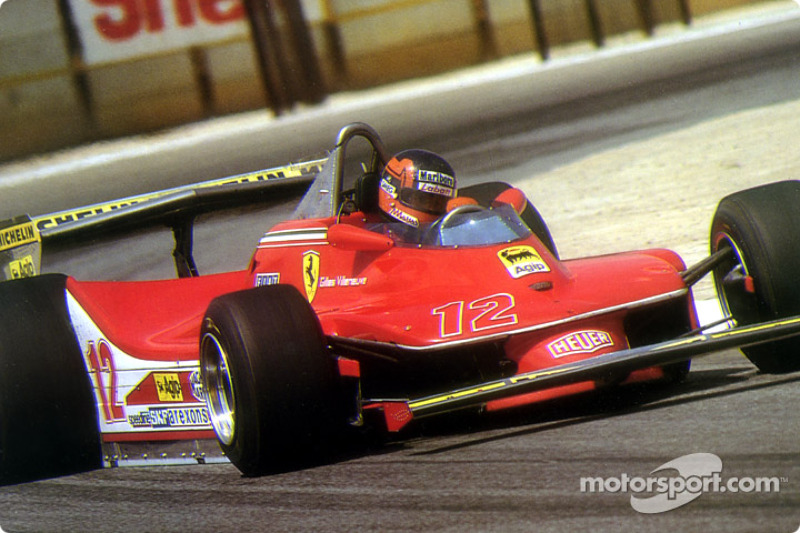 Une technique typique de Gilles Villeneuve