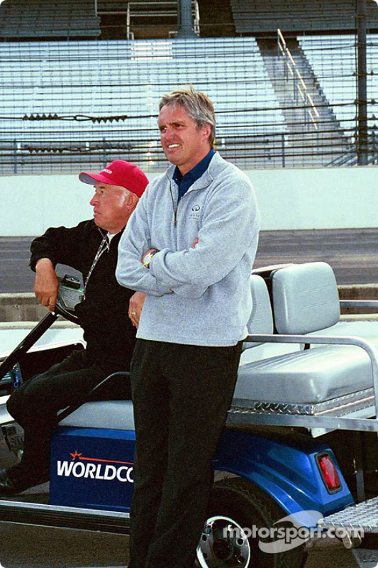 Mo Nunn and Eddie Cheever