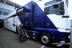 Williams-BMW transporter