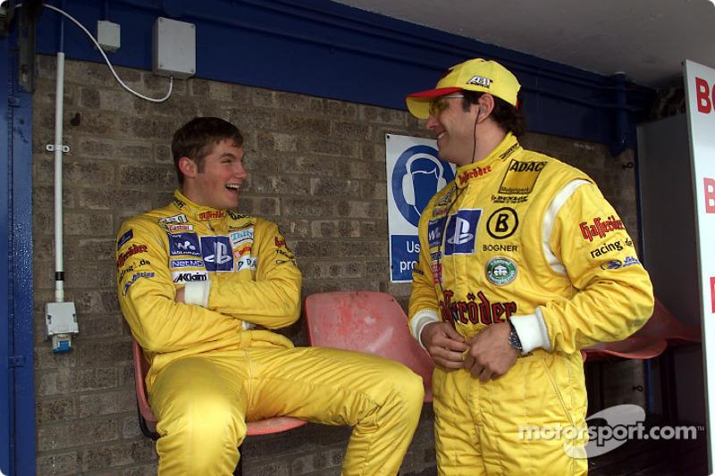 Martin Tomczyk y Christian Abt