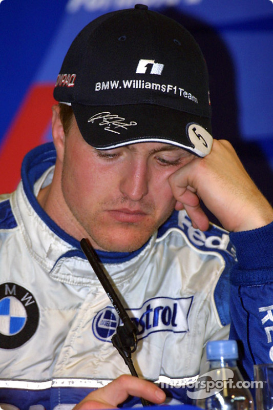 Winners' press conference: Ralf Schumacher