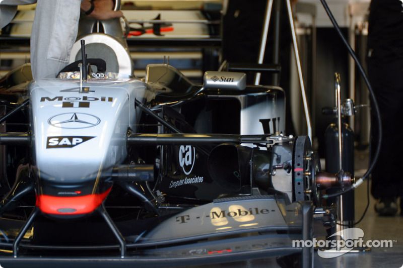 Trabajando en el McLaren