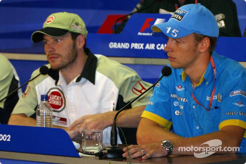 FIA Friday press conference: Jacques Villeneuve and Jenson Button