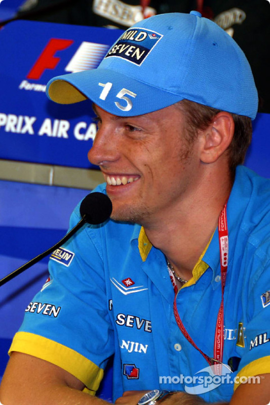 Conferencia FIA del viernes: Jenson Button
