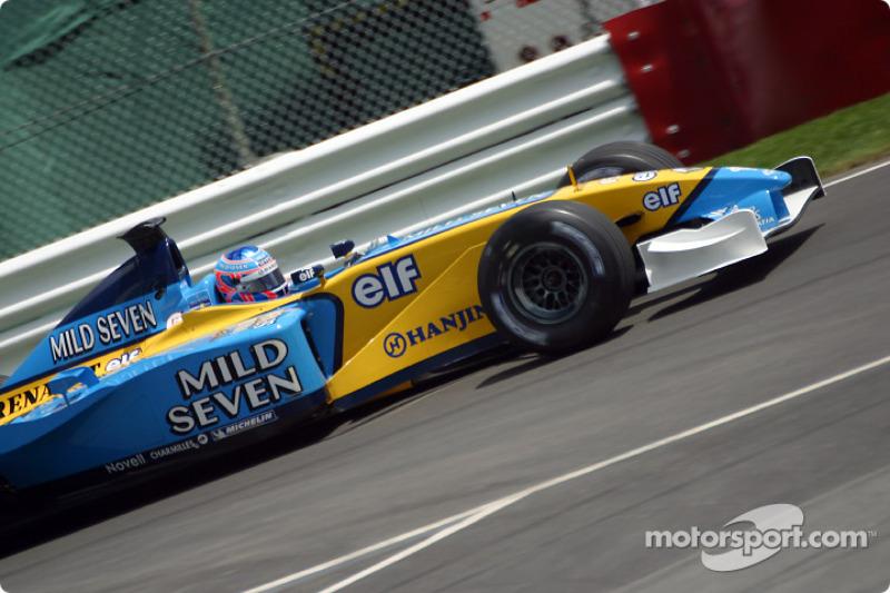 Jenson Button rumbo a la pre parrilla