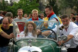 Didier Cottaz, Boris Derichebourg and Thed Bjork