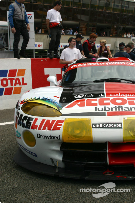 Chrysler Viper GTS-R del Larbre Competition