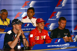 Conferencia de prensa del jueves: Ralf y Michael Schumacher, y David Coulthard