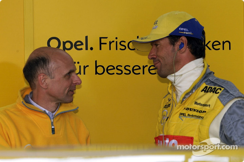 Volker Strycek and Manuel Reuter