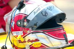 Rinaldo Capello's helmet