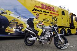 Takuma Sato, a happy Honda rider