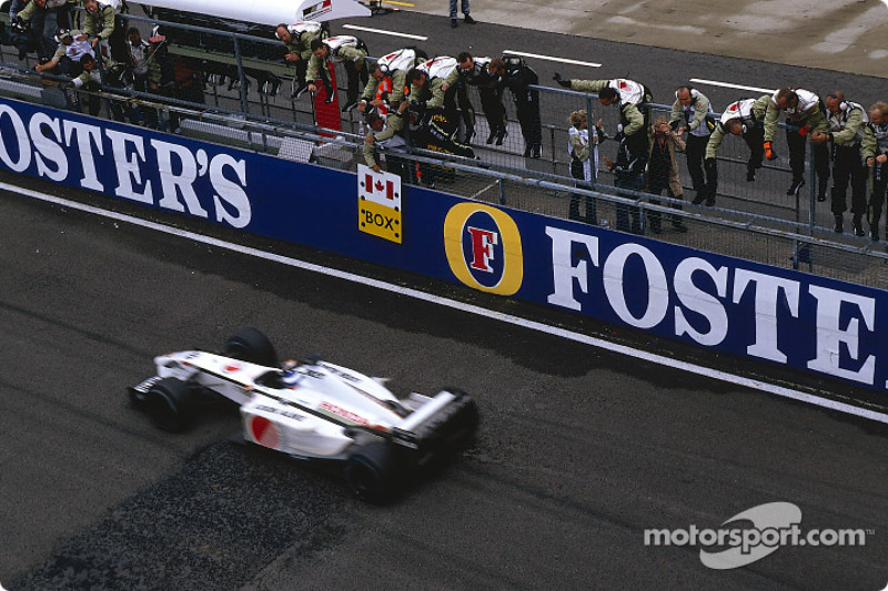 First points of the season for Olivier Panis