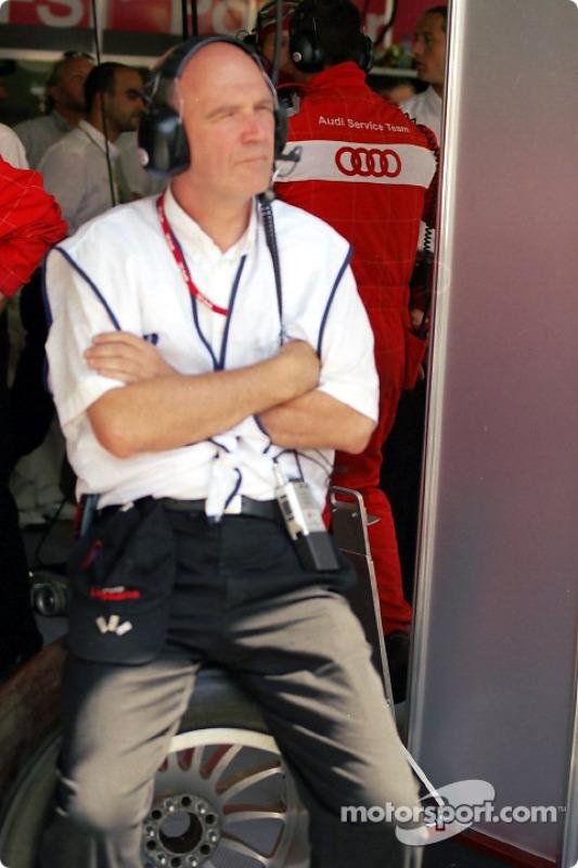 Jefe de Audi Sport, Wolfgang Ullrich