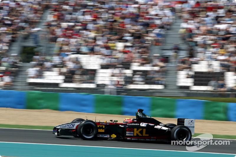 Алекс Йонг, Minardi Asiatech