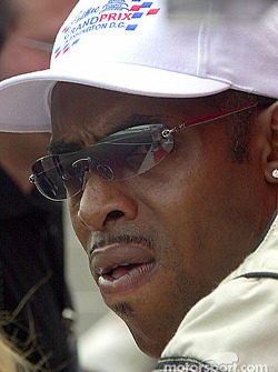 Coolio watches for his turn