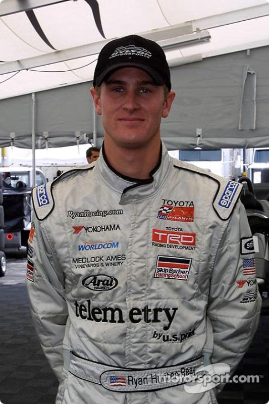 Gagnant de la course Ryan Hunter-Reay