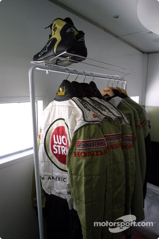 Vestidor de los pilotos de BAR