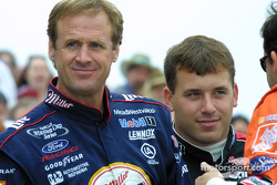 Rusty Wallace and Ryan Newman