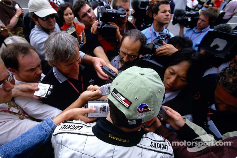 Hora de entrevista para Jacques Villeneuve