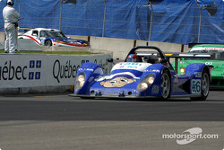 Team Bucknum Racing Pilbeam MP84 during the pace laps