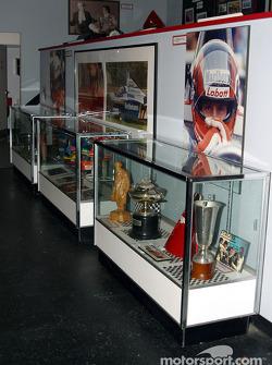 Visit to Gilles Villeneuve Museum: trophies