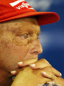 Friday press conference: Niki Lauda