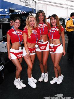 Hawaiin Tropic girls