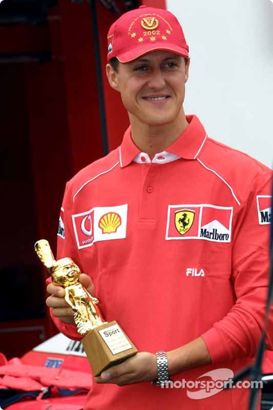 Another award for Michael Schumacher