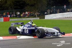 Ralf Schumacher spinning