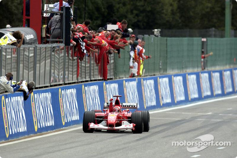 GP Belgien 2002
