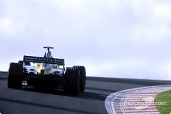 Jenson Button during the warmup session