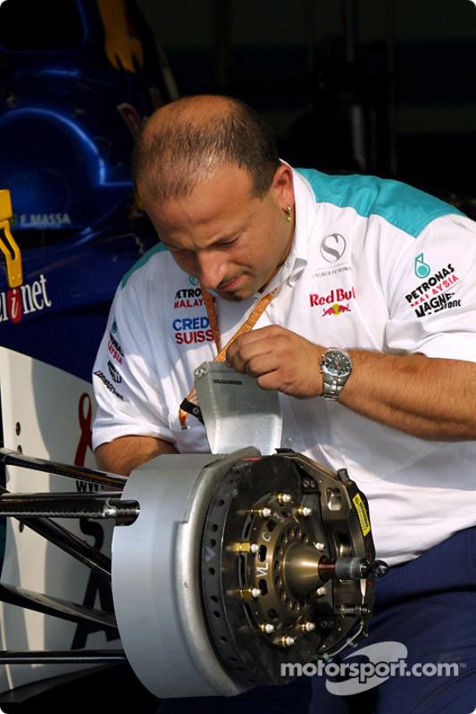 Miembro del equipo Sauber
